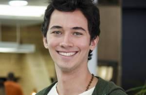 Gabriel Falcão, ator de 'Malhação', diz sobre relacionamentos: 'Sou exigente'