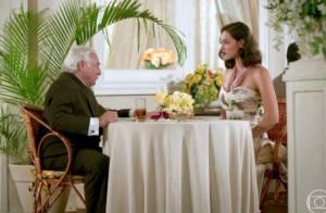 Novela 'Êta Mundo Bom': Filomena aceita pedido de casamento de Fragoso
