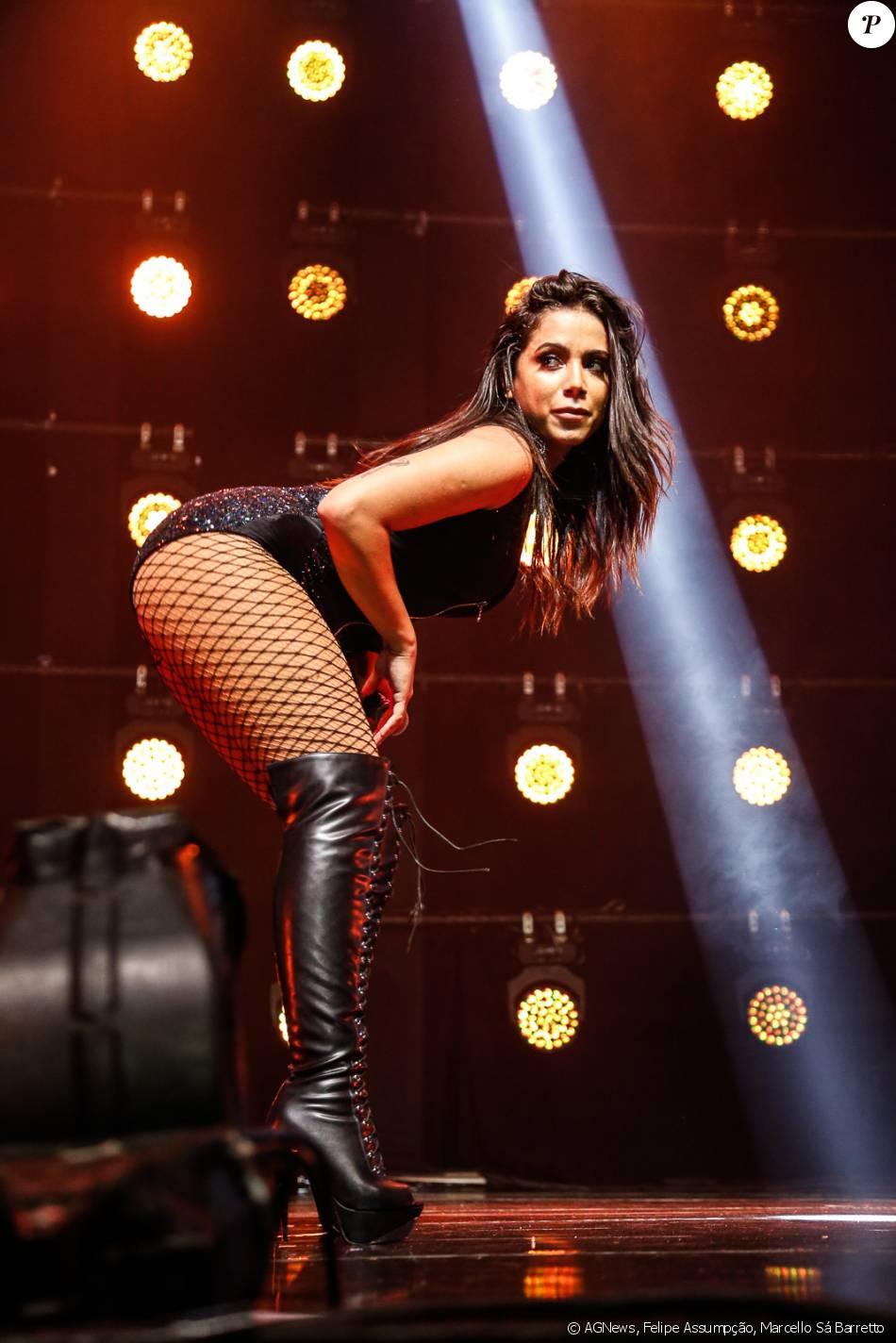 Anitta lança a turnê 'Bang' em show lotado no Rio, nesta quinta-feira, 7 de abril de 2016