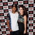 Marcello Melo Jr e a namorada, Caroline Alves, no show de estreia da 'Bang Tour', de Anitta, no Rio, nesta quinta-feira, 7 de abril de 2016