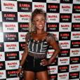 Ex-BBB Adélia no show de estreia da 'Bang Tour', de Anitta, no Rio, nesta quinta-feira, 7 de abril de 2016