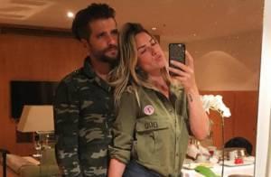 Bruno Gagliasso e Giovanna Ewbank combinam look militar: 'Tão fofo nós dois'