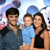 Felipe Simas e Mariana Uhlmann comemoram aniversário de 2 anos do filho, Joaquim