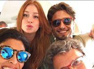 Marina Ruy Barbosa viaja com elenco de 'Totalmente Demais': 'Partiu Uruguai'
