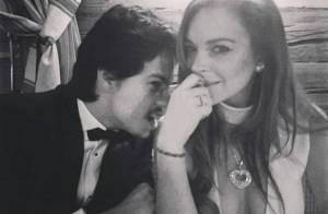 Lindsay Lohan fica noiva do milionário Egor Tarabasov após 5 meses de namoro