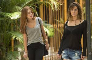 Novela 'Totalmente Demais': Sofia tenta matar Eliza e posa de vítima. 'Acidente'