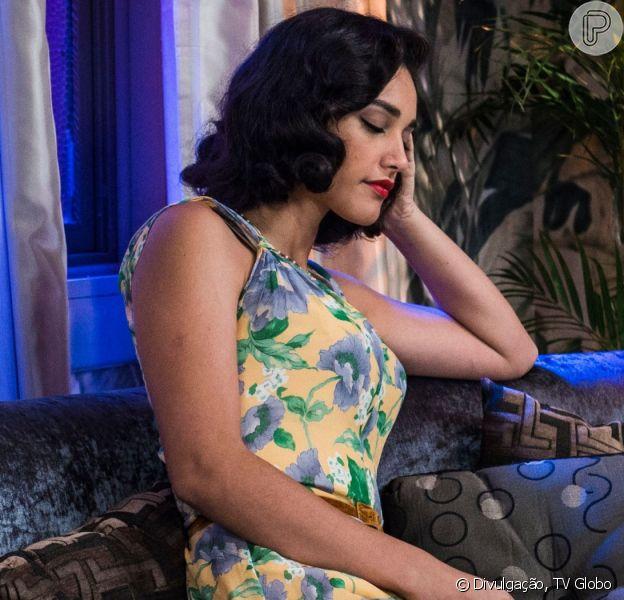 Na novela 'Êta Mundo Bom!': Filomena recusa fortuna após ficar viúva pelo filho que espera de Candinho