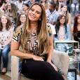 Viviane Araújo diz que sofreu preconceito como atriz: 'Será que vai dar conta?'. Rainha de bateria do Salgueiro esteve no 'Altas Horas' de sábado, 16 de abril de 2016