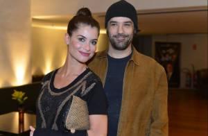 Alinne Moraes está grávida de seu primeiro filho com o cineasta Mauro Lima