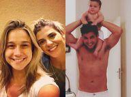 Fernanda Gentil passa fim de semana com as amigas e ex-marido cuida do filho