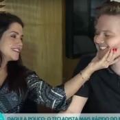Michel Teló e Thais Fersoza cantam música para a filha: 'Melinda, vem'