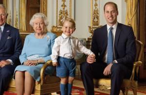 Príncipe George esbanja fofura em foto oficial pelos 90 anos da rainha Elizabeth