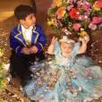 Wesley Safadão é pai de Yhudy, de 5 anos, e de  Ysis, de 1 ano