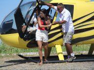 Munik, campeã do 'BBB16', passeia de helicóptero com amigos no RJ. Fotos!