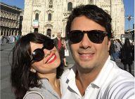 Vanessa Giácomo viaja para Europa com o marido, Giuseppe Dioguardio: 'Príncipe'