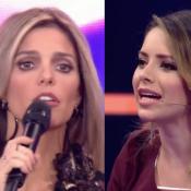 Fernanda Lima é 'corrigida' por Sandy no 'SuperStar' e web elogia: 'Dando banho'