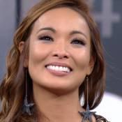 Carol Nakamura chora ao deixar o 'Domingão' para fazer novela: 'Farei o melhor'