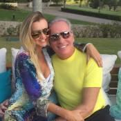 Ana Paula Siebert se declara a Roberto Justus: 'Como é bom estar ao seu lado'