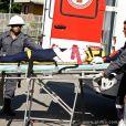 Amarilys (Danielle Winits) sofre um grave acidente no trânsito e é resgatada das ferragens incosciente, em 'Amor à Vida'