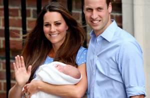 Filho de Kate Middleton e William, George terá sete padrinhos de batismo