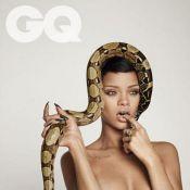 Rihanna posa nua e vira uma medusa com cobras na cabeça: 'Elas são estrelas'