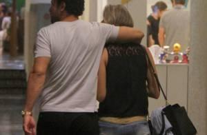 Fred leva a nova namorada para assistir ao filme de Fábio Porchat