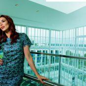 Tania Khalill não descarta aumentar a família: 'Gostaria de três meninas'