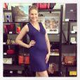 Ana Hickmann está grávida de cinco meses de gestação de seu primeiro filho, Alexandre