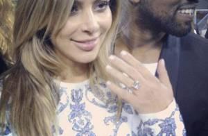 Croquis de vestido de noiva de Kim Kardashian são divulgados por revista