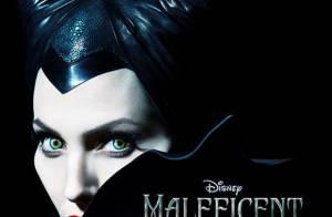 Angelina Jolie aparece com chifres em primeiro cartaz do filme 'Malévola'