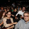 Bárbara Paz, Rodrigo Lombardi e Lilia Cabral sentaram juntos e conversaram antes de 'Elis - A Musical' começar