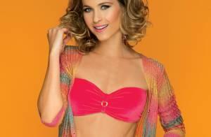 Luiza Valdetaro, atriz de 'Joia Rara', posa de biquíni para capa de revista