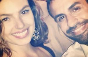 Isis Valverde se diverte em casamento de amigos: 'Pediu pra ser bonita 10 vezes'