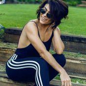 Juliana Paes retoma atividade física após viagem de férias à Grécia: 'Treino'