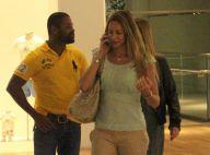 Luana Piovani passeia em shopping após fim de casamento com Pedro Scooby. Fotos!