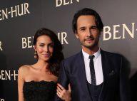 Rodrigo Santoro e namorada, Mel Fronckowiak, vão à première de 'Ben-Hur' nos EUA