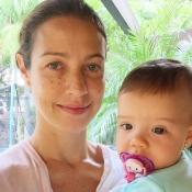 Luana Piovani festeja primeiros passos da filha Liz, de 11 meses: 'Andou'. Vídeo
