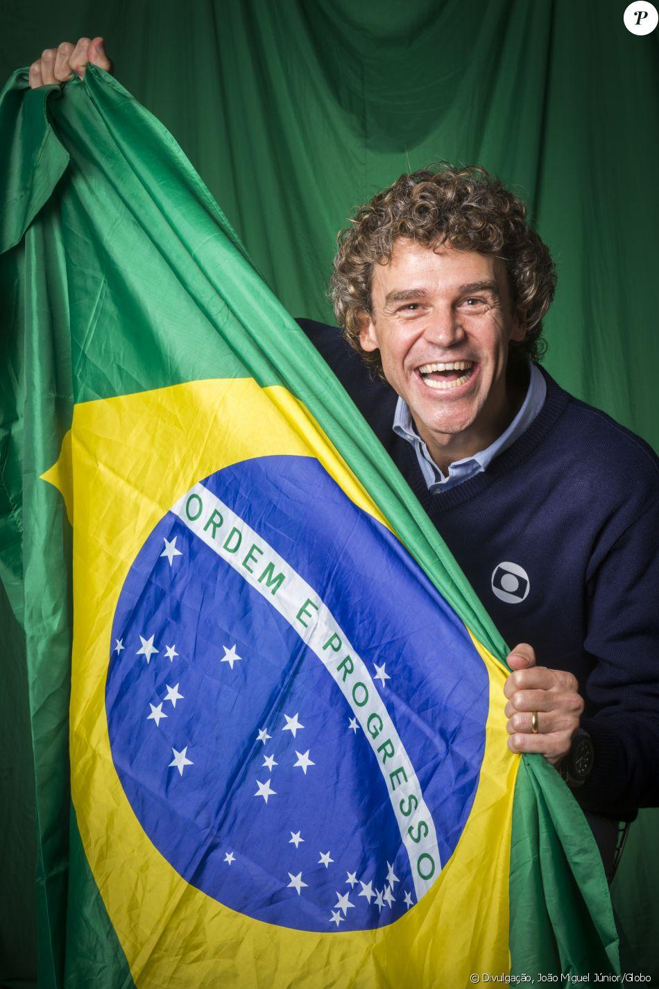 Gustavo Kuerten entarista da Globo conquistou internautas por