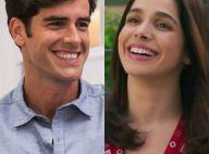 'Haja Coração': Shirlei tem primeiro beijo da vida com Felipe. 'Um sonho!'