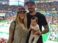 Ex-BBB Aline Gotschalg leva filho, Lucca, de 3 meses, na Olimpíada: 'Ansioso'