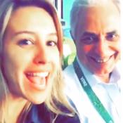Cris Dias abafa atrito com William Waack e web questiona: 'Pressão da emissora?'