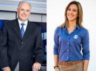 William Waack nega conflito com Cris Dias após polêmica: 'Colegas que se gostam'