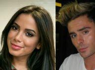 Anitta beija Zac Efron e deixa festa na companhia do ator americano, diz jornal