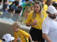 Filho de Neymar, Davi Lucca vai ao Maracanã torcer pelo pai na final da Rio 2016