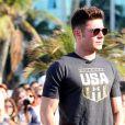 Zac Efron, astro de 'High School Musical, foi assediado por fãs brasileiros durante sua passagem pelo Rio de Janeiro em agosto de 2016