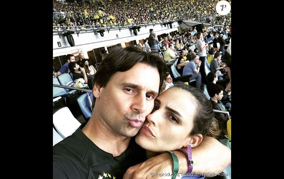 Murilo Rosa é acusado por advogado de vender ingressos falsos para a final do futevol masculino da Rio 2016, em 21 de agosto de 2016