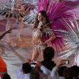 Izabel Goulart samba na cerimônia de encerramento da Rio 2016