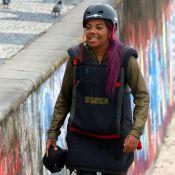 Radical! Ludmilla salta de asa-delta no Rio: 'Amei. Quero de novo'. Veja vídeo!