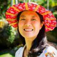 Miwa Yanagizawa é Mieko na novela 'Sol Nascente'. Após perder o marido no Japão, ela foi morar na casa de seu irmão, Tanaka (Luis Melo), no Brasil junto com seus três filhos, Yumi (Jacqueline Sato), Hiromi (Carolina Nakamura) e Hideo (Paulo Chun)
