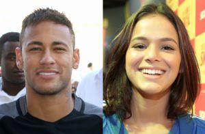Neymar canta 'Sou o Cara Pra Você' para Bruna Marquezine em show. Veja vídeo!
